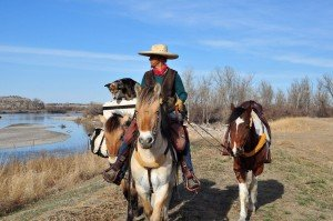 Long rider Bernice Ende