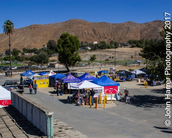 Some of the vendors  Norco Horse Affair