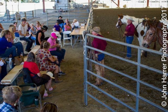 Jerry Tindell Teaching Norco Horse Affair