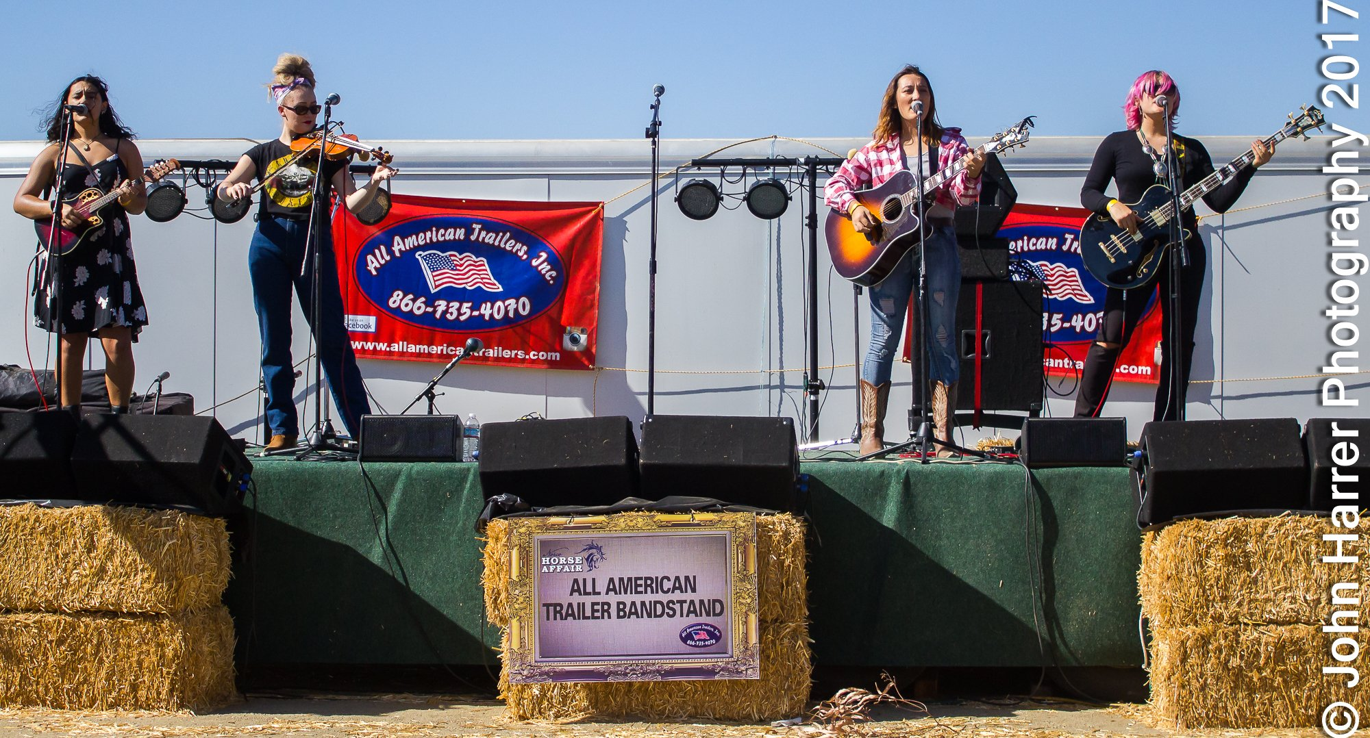 Darden Sisters Band Norco Horse Affair
